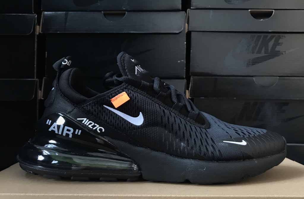 OFF White x Nike Air Max 270 Scarpe Uomo e Donna