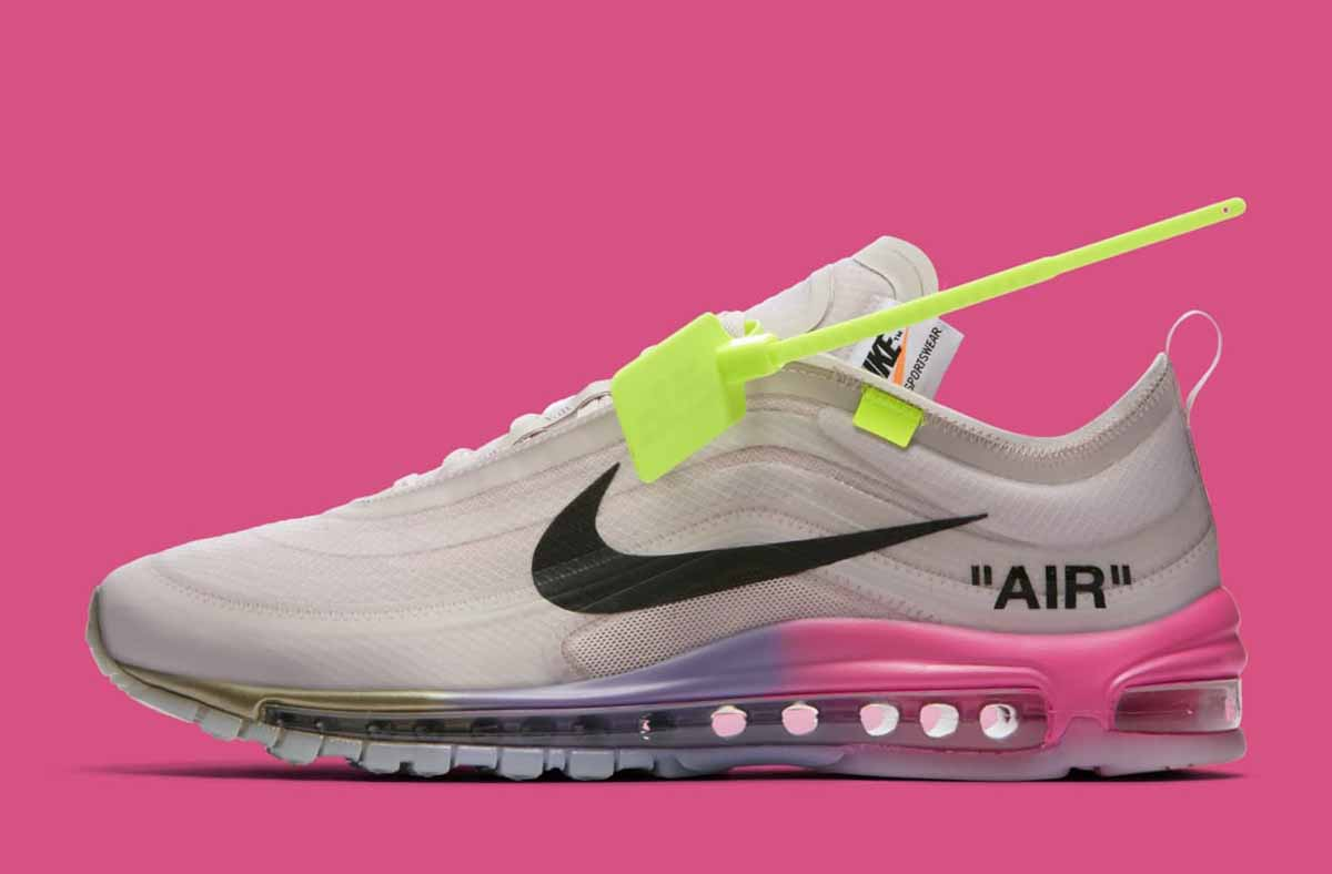 OFF White x Nike Air Max 97 Queen Scarpa Donna