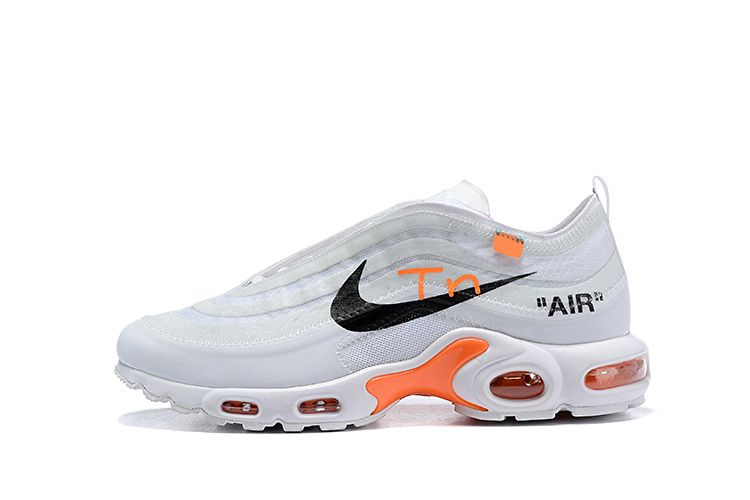 OFF White x Nike Air Max Plus 97 Scarpa Uomo
