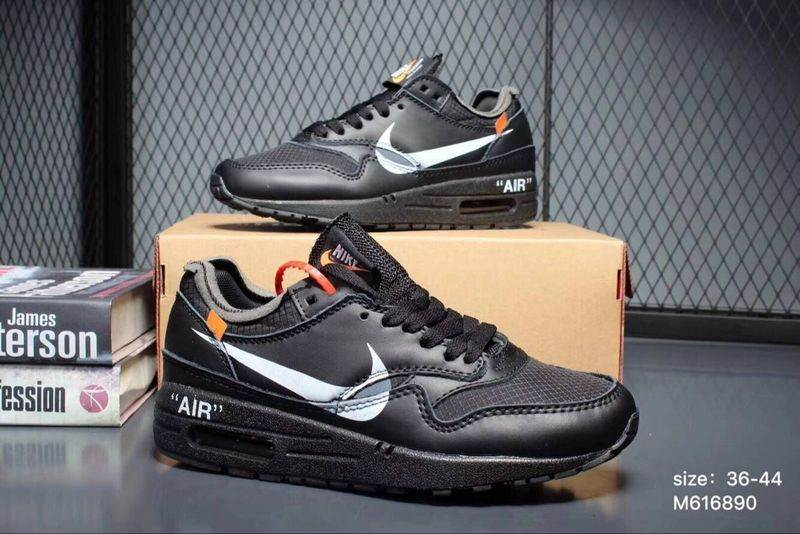 OFF White x Nike Air Max 1 Scarpe Uomo e Donna