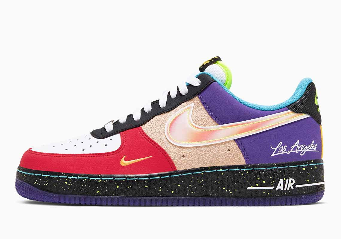Nike Air Force 1 07 LV8 What The LA Scarpe Uomo e Donna